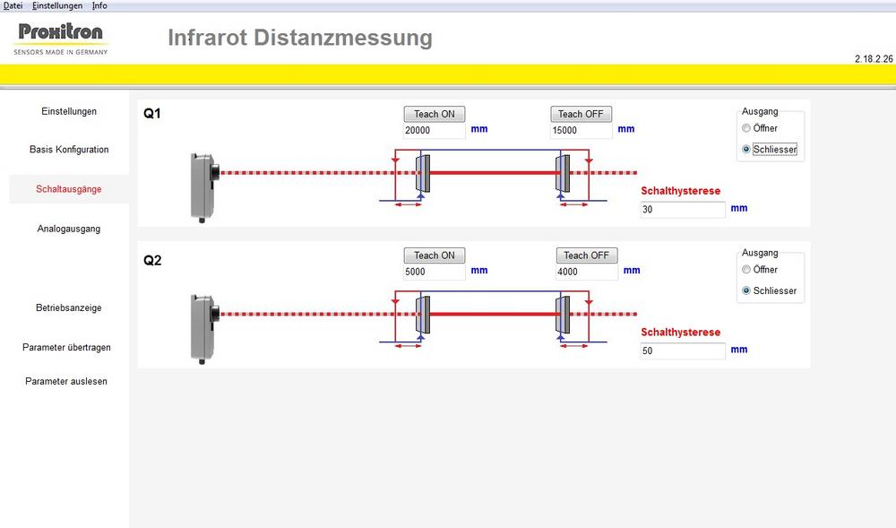 LiDAR Sensor LID 010 Proxitron