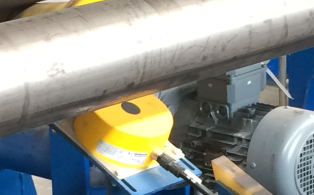 Tube Detection in the handling area Seamless Tube Mill Proxitron