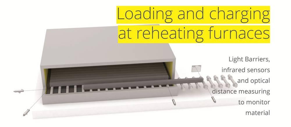 Reheating furnace Proxitron