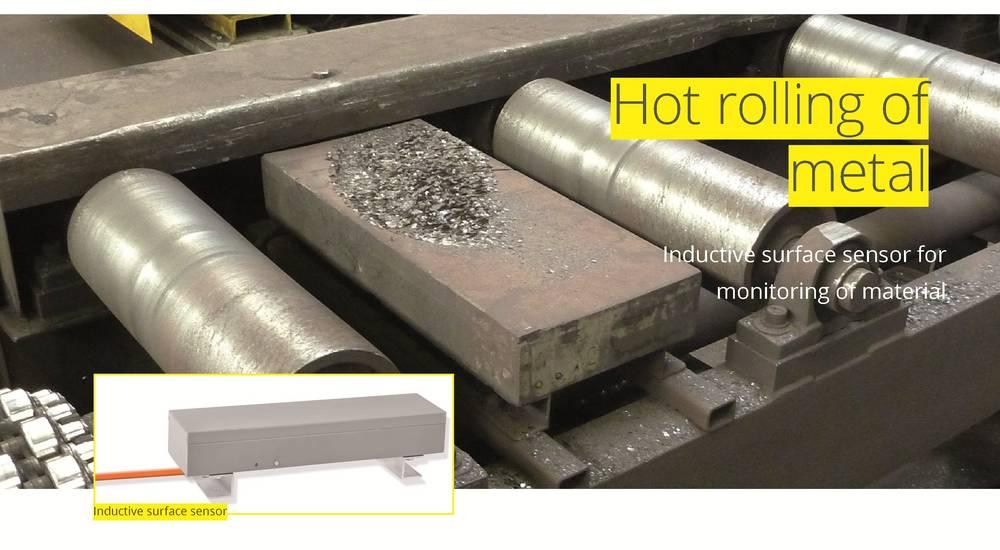 Hot rolling of metal Proxitron